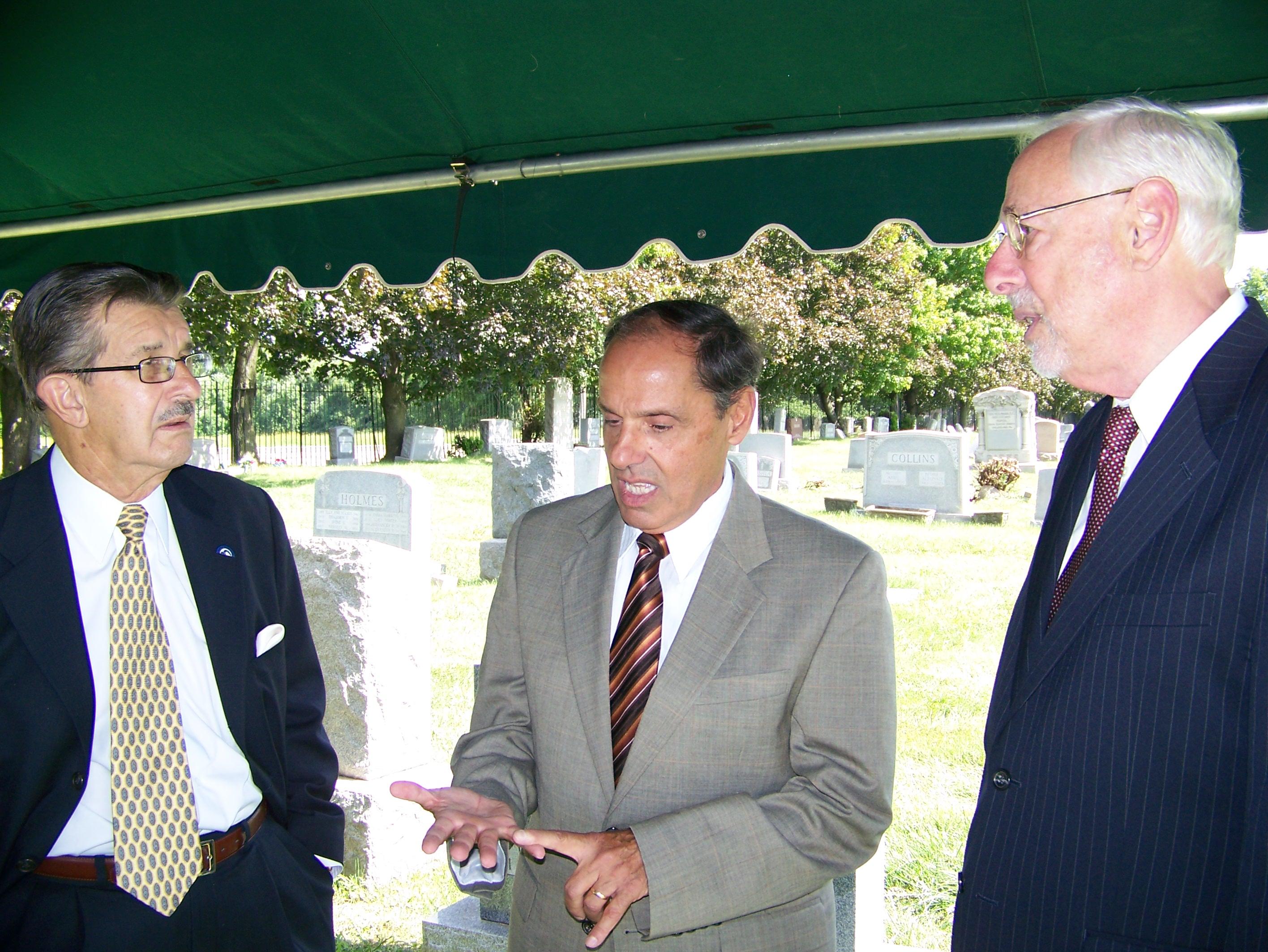 Chairman Zazycyny, Frank Falcone & Robert Stern